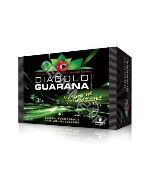 ADAMED Diabolo Guarana x 20 kaps