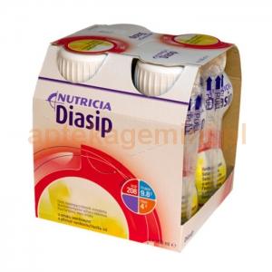 NUTRICIA Diasip, płyn odżywczy waniliowy, 4x200ml OKAZJA