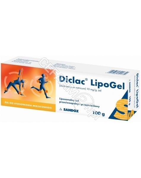 SANDOZ Diclac lipogel 10 mg/g żel 100 g