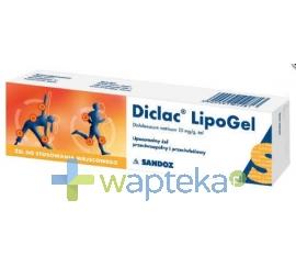 SANDOZ GMBH Diclac Lipogel żel 0,01 g/g 100 g (tuba)