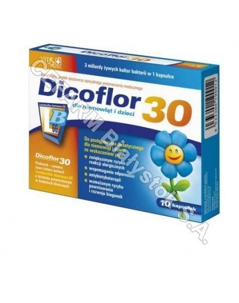 BAYER Dicoflor 30 dla dzieci x 10 kaps