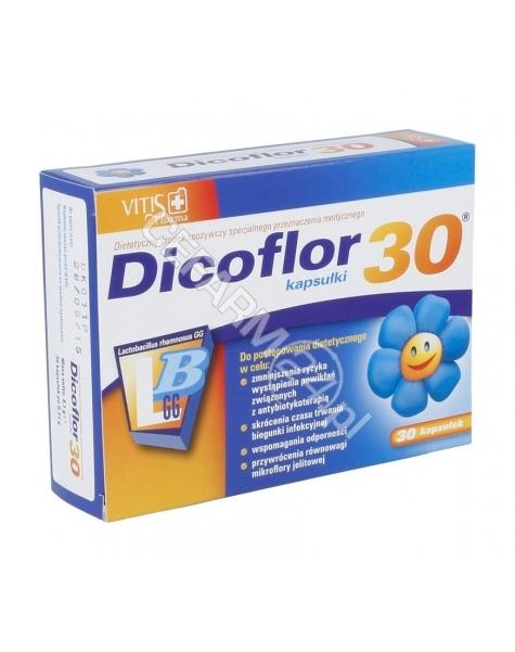 BAYER Dicoflor 30 dla dzieci x 30 kaps