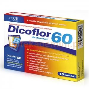 VITIS PHARMA Dicoflor 60, 10 kapsułek