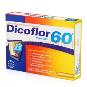 BAYER Dicoflor 60, 20 kapsułek