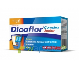 VITIS PHARMA Dicoflor Complex Junior 10 fiolek