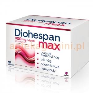 Aflofarm Diohespan max 1000mg, 60 tabletek