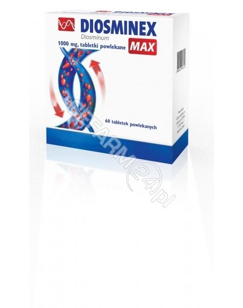 PHARMASWISS Diosminex max 1000 mg x 60 tabl powlekanych