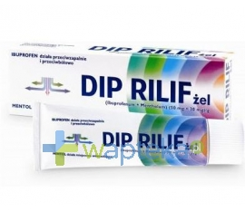 MENTHOLATUM CO.LTD Dip Rilif żel 100g
