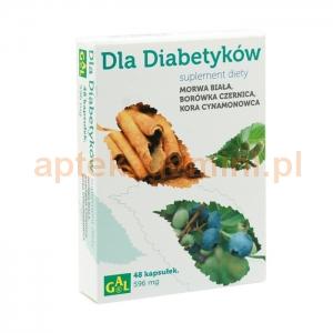 Gal Dla diabetyków, 48 kapsułek OKAZJA
