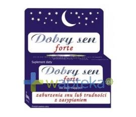UNIPHAR SP Z O.O. Dobry Sen Forte 30 tabletki