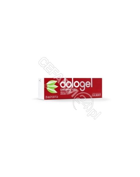 ALPEN PHARMA Dologel żel do masażu dziąseł 25 ml