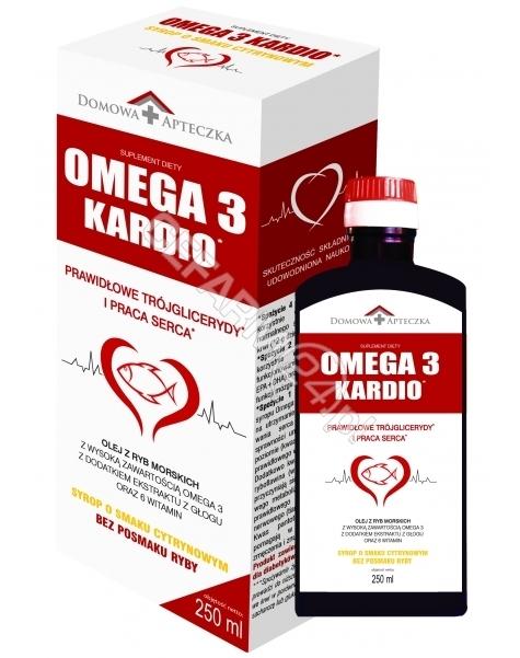 DOMOWA APTEC Domowa apteczka Omega 3 kardio syrop o smaku cytrynowym 250 ml (data ważności 31.08.2016)