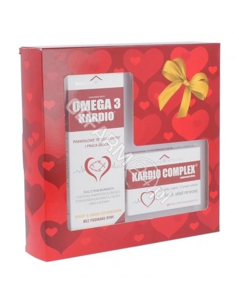 DOMOWA APTEC Domowa apteczka Omega 3 kardio syrop o smaku cytrynowym 250 ml + Kardio complex 30 tabl GRATIS!!!
