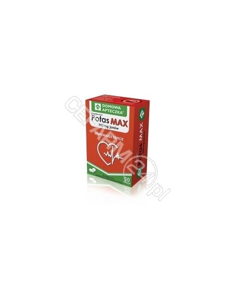 DOMOWA APTEC Domowa apteczka potas max 300 mg x 50 tabl