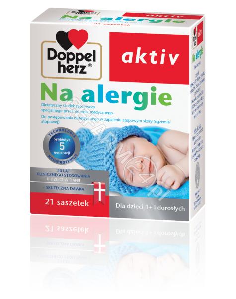 QUEISSER Doppel herz aktiv na alergie x 21 sasz