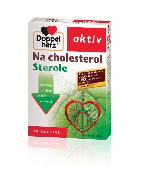QUEISSER Doppel herz aktiv na cholesterol sterole x 30 tabl