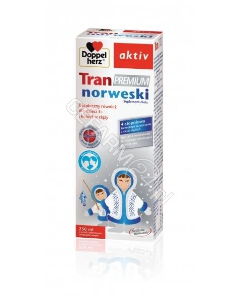 QUEISSER Doppel herz aktiv tran premium norweski 250 ml