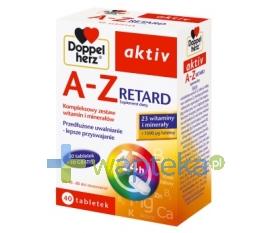 QUEISSER PHARMA GMBH & CO. Doppelherz aktiv A-Z RETARD 40 tabletek