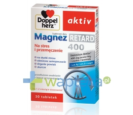 QUEISSER PHARMA GMBH & CO. Doppelherz aktiv Magnez Retard 400 30 tabletek