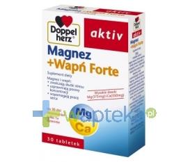 QUEISSER PHARMA GMBH & CO. Doppelherz Aktiv Magnez+Wapn Forte 30 kapsułek