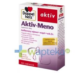 QUEISSER PHARMA GMBH & CO. DoppelHerz Aktiv MENO 30 tabletek