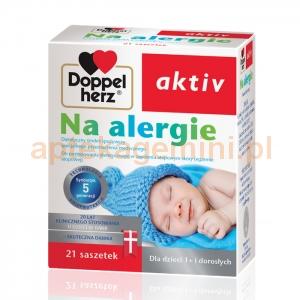 QUEISSER PHARMA Doppelherz Aktiv, Na alergie, dla dzieci powyżej 6 roku życia, 21 saszetek