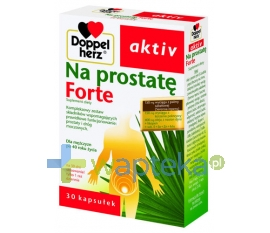 QUEISSER PHARMA GMBH & CO. Doppelherz Aktiv Na prostatę Forte 30 kapsułek
