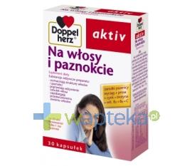 QUEISSER PHARMA GMBH & CO. Doppelherz Aktiv Na włosy i paznokcie 30 kapsułek