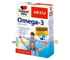 QUEISSER PHARMA GMBH & CO. Doppelherz aktiv Omega-3 30 kapsułek