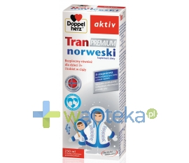QUEISSER PHARMA GMBH & CO. Doppelherz aktiv Tran Premium Norweski 250 ml