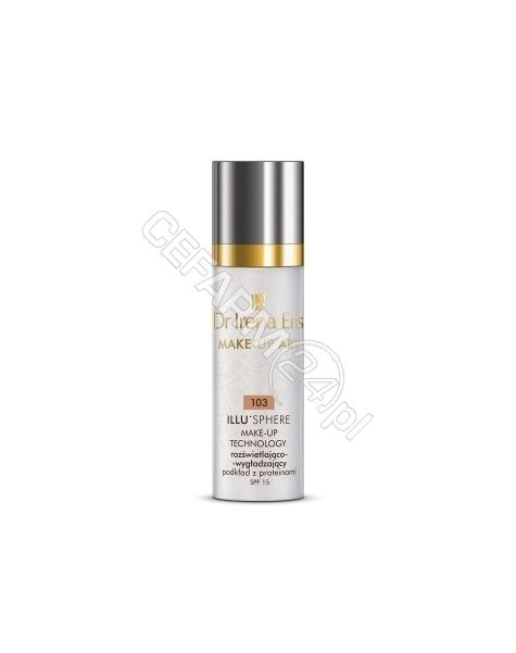 DR IRENA ERIS Dr irena eris make-up art - rozświetlająco - wygładzający podkład z proteinami illu'sphere 103 beige 30 ml