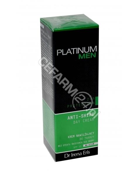 DR IRENA ERIS Dr irena eris platinum men 24h protection anti-shine day cream - krem nawilżający do twarzy spf 15 50 ml