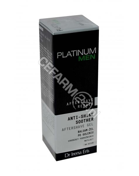 DR IRENA ERIS Dr irena eris platinum men aftershave repair anti-shine soother - łagodzący podrażnienia matujący balsam-żel po goleniu na dzień 50 ml