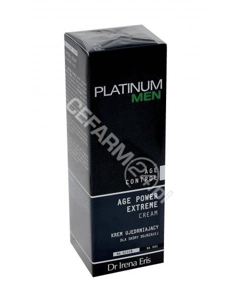 DR IRENA ERIS Dr irena eris platinum men age control age power extreme cream - krem ujędrniający dla skóry dojrzałej na dzień i noc 50 ml