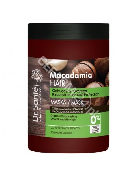 ELFA PHARM Dr. Santé maska do włosów osłabionych z olejem macadamia i keratyną 1000 ml