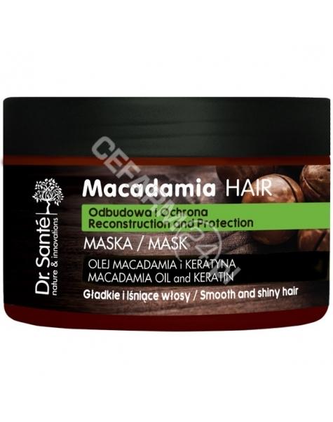 ELFA PHARM Dr. Santé maska do włosów osłabionych z olejem macadamia i keratyną 300 ml