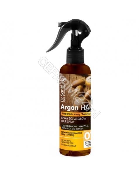 ELFA PHARM Dr. Santé spray do włosów ułatwiający rozczesywanie z olejem arganowym i keratyną 150 ml