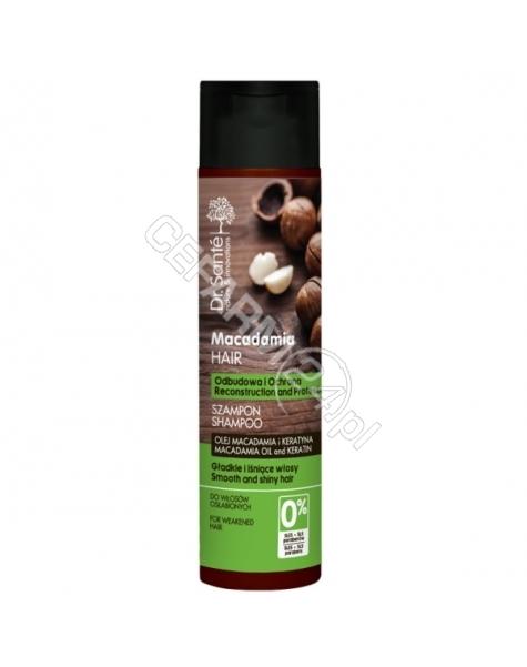 ELFA PHARM Dr. Santé szampon do włosów osłabionych z olejem macadamia i keratyną 250 ml