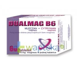 ACTIVEPHARM SPÓŁKA CYWILNA Dualmag B6 60 tabletek