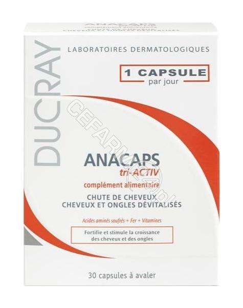 DUCRAY Ducray Anacaps Tri-Activ x 30 kaps