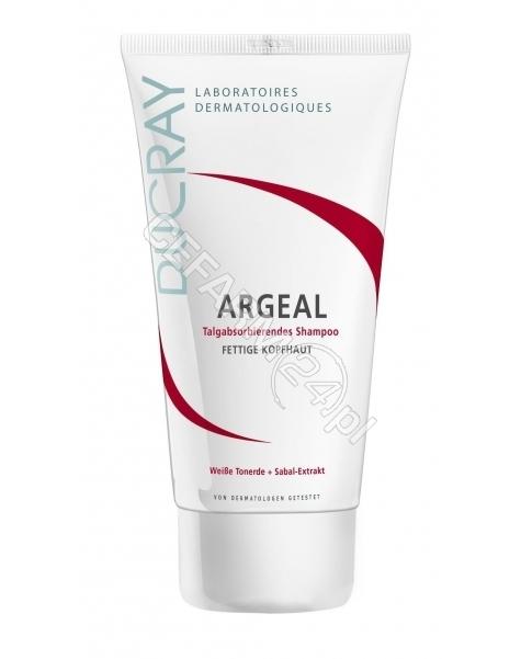 DUCRAY Ducray argeal - szampon w kremie na bazie delikatnej glinki do włosów tłustych 200 ml