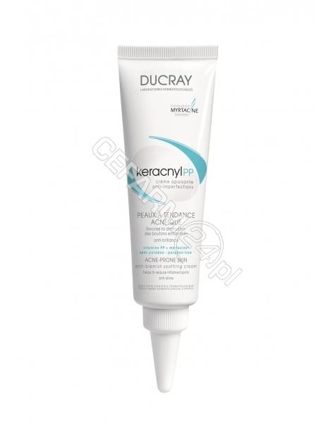 DUCRAY Ducray Keracnyl PP krem kojący przeciw niedoskonałościom 30 ml