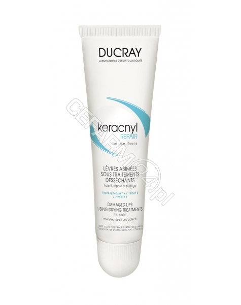 DUCRAY Ducray Keracnyl repair balsam do ust 15 ml