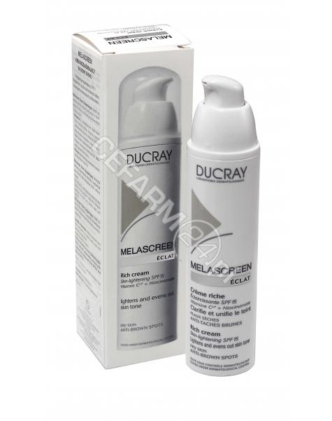 DUCRAY Ducray melascreen krem rozjaśniający na przebarwienia spf 15 riche 40 ml