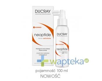 PIERRE FABRE DERMO-COSMETIQUE POLSKA SP. Z O.O. DUCRAY NEOPTIDE MEN Płyn przeciw wypadaniu włosów spray 100 ml + DUCRAY ANAPHASE Stymulujący szampon 50 ml