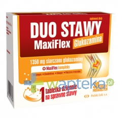 POLSKI LEK Duo Stawy MaxiFlex Glukozamina 30 tabletek musujących