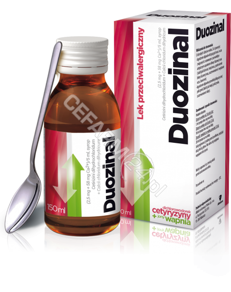 AFLOFARM Duozinal syrop (2,5mg+58mg)/5ml 150 ml