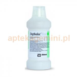 ABBOTT Duphalac Fruit Lactulosum, syrop na zaparcia o smaku śliwkowym, 500ml