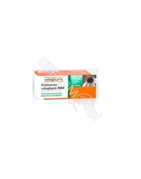 RATIOPHARM Echinacea-ratiopharm max 100 mg x 50 tabl