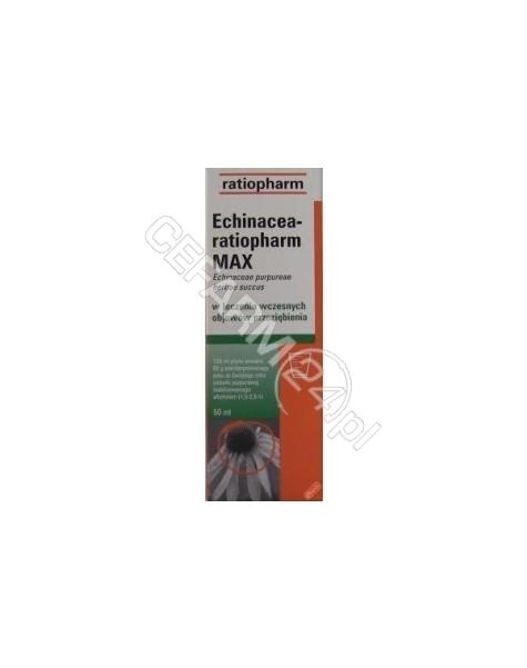RATIOPHARM Echinacea-Ratiopharm Max płyn doustny 50 ml